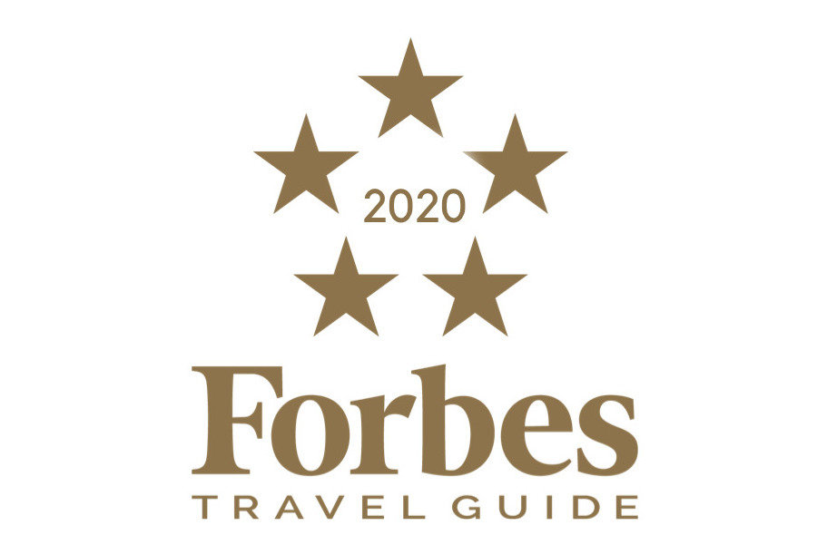 Forbes 5 star logo