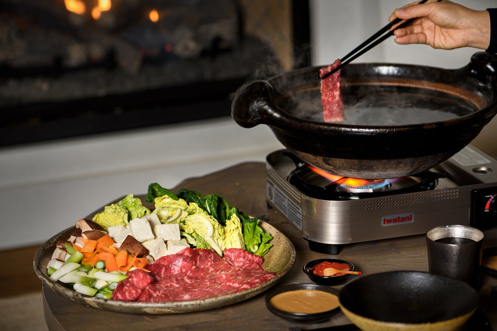 American Wagyu Shabu Shabu Donable Hot Pot