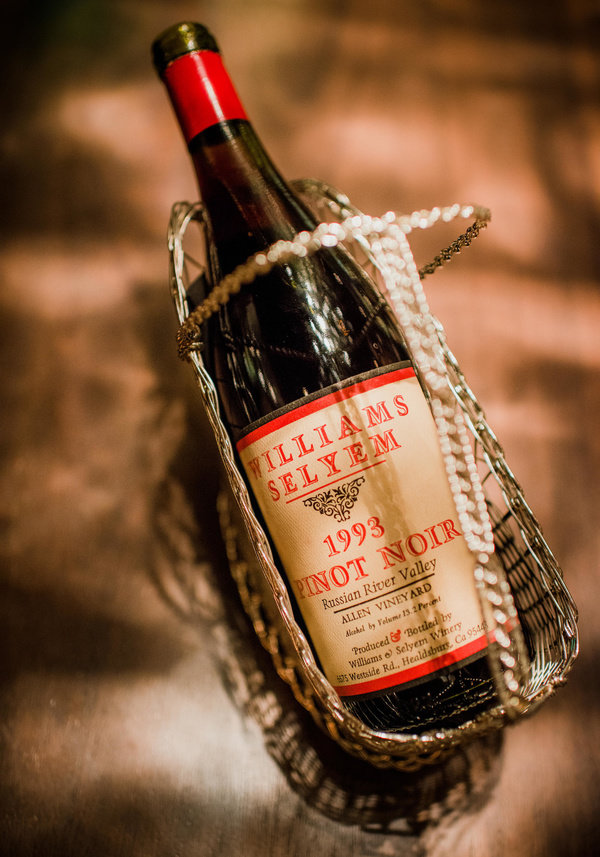 Bottle of rare 1993 vintage